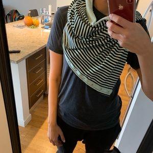 Lululemon Vinyasa Mint Green scarf